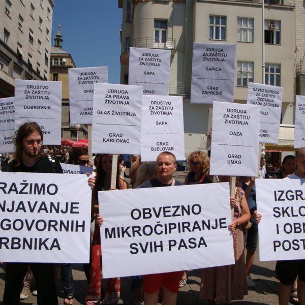 prosvjed zbog neprovođenja Zakona